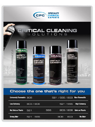 CPC Critical Cleaning Solutions