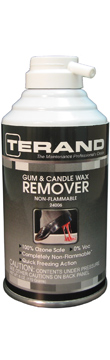 Gum & Candle Wax Remover - Non-Flammable