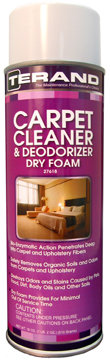Carpet Cleaner & Deodorizer - Dry Foam