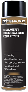 SOLVENT DEGREASER Fast Drying