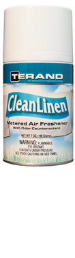 Clean Linen Metered Air Freshener with Odor Counteractant