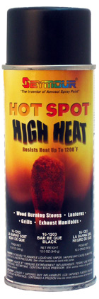 Heat Resistant High Temp Paint Hot Spot - Flat Black