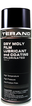 DRY MOLY FILM LUBRICANT and COATING - CHLORINATED